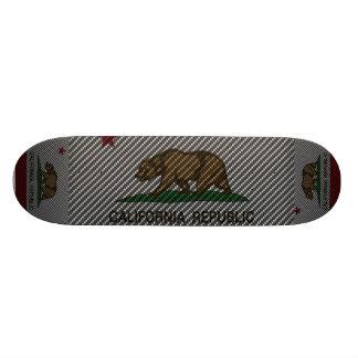 California Carbon Fiber 21.6 Cm Old School Skateboard Deck