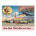 California, Carpenter's Restaurant Postcard