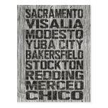 California Central Valley Postcard