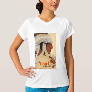 California Chief Restored Vintage Travel Poster T-Shirt