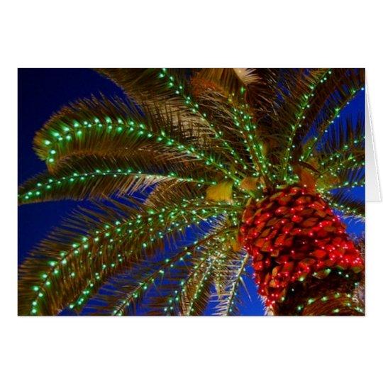 California Christmas Card