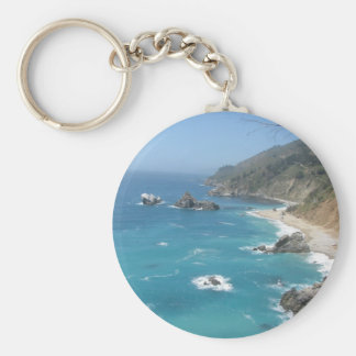 California Coast- Big Sur Key Ring