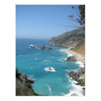 California Coast- Big Sur Postcard