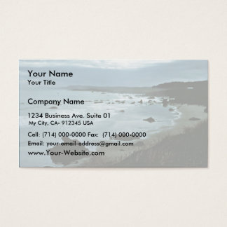 California coast business card