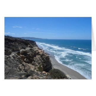 California Coast Note Card