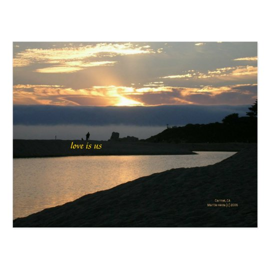 California Coastline - Carmel - Postcard
