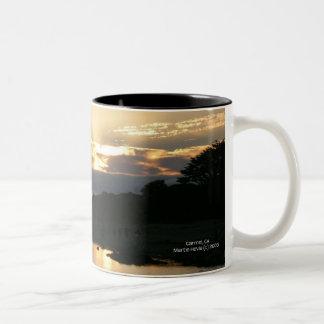 California Coastline - Carmel Sunset - Mug