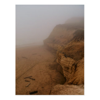 California Coastline in Fog Post Card