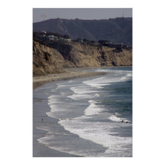 California Coastline Poster