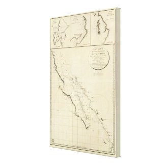 California coasts canvas print