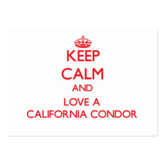 California Condor Business Card