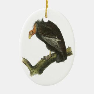 California Condor by Audubon Christmas Ornament