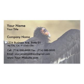California condor pack of standard business cards