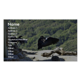 California condors pack of standard business cards