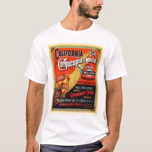 California - Cornucopia of the World T-Shirt