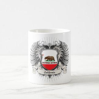 California Crest Basic White Mug