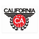 California Crest Design Postcards