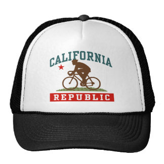 California Cycling Male Hats