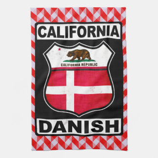 California Danish American Towel