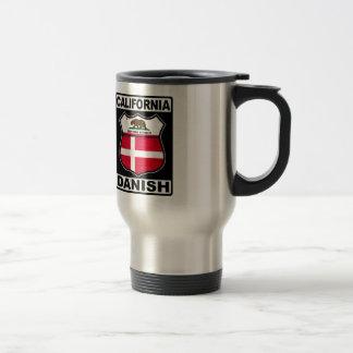 California Danish American Travel Mug