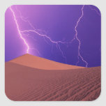 California, Death Valley National Park, Square Sticker