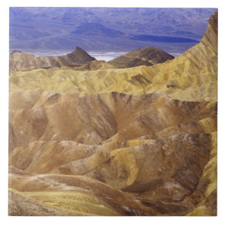 California: Death Valley NP, view from Zabriskie Large Square Tile