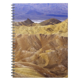 California: Death Valley NP, view from Zabriskie Note Book