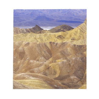 California: Death Valley NP, view from Zabriskie Notepad