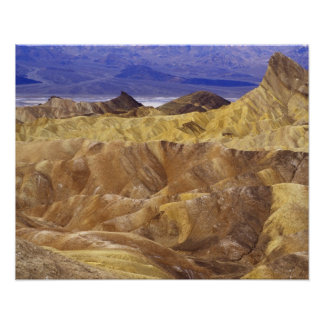 California: Death Valley NP, view from Zabriskie Poster
