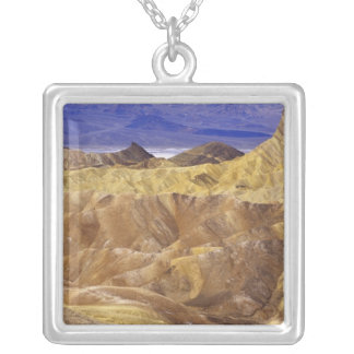 California: Death Valley NP, view from Zabriskie Square Pendant Necklace
