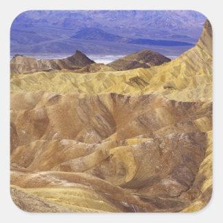California: Death Valley NP, view from Zabriskie Square Sticker