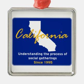 California Ornament