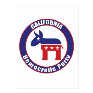 California Democratic Party Postcard