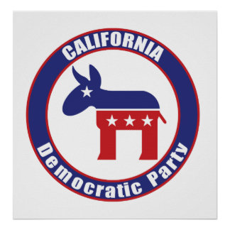 California Democratic Party Poster