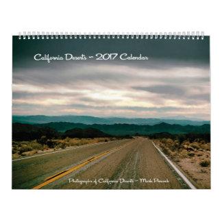 California Deserts - 2017 Calendar