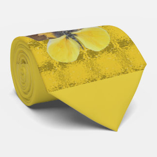 California Dog Face Butterfly Tie