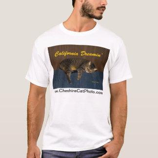California Dreamin' CAt California Products T-Shirt