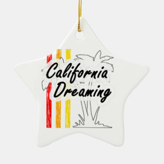 California Dreaming Christmas Ornament