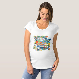 California Dreaming Maternity T-Shirt
