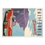 California Dreaming postcard 13 Cm X 18 Cm Invitation Card