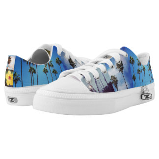 California dreaming shoes. printed shoes