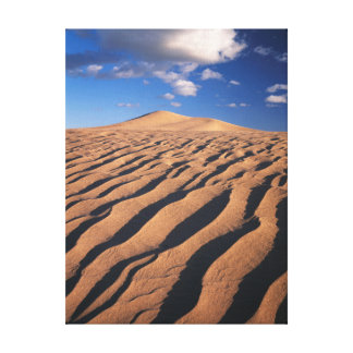 California, Dumont Dunes in the Mojave Desert Canvas Print
