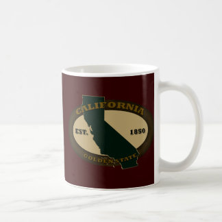 California Est. 1850 Coffee Mugs