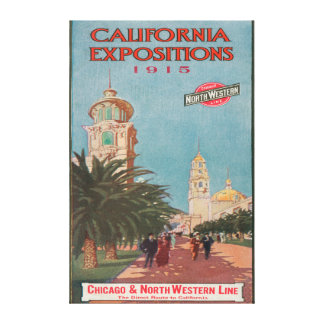 California Expositions Poster #1 Canvas Print