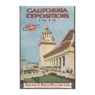 California Expositions Poster #2 Canvas Print