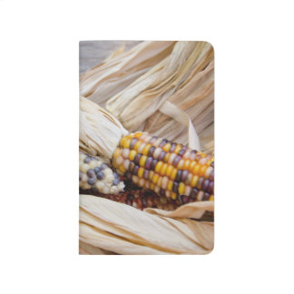 California. Fall Harvest Colorful Indian Corn Journals