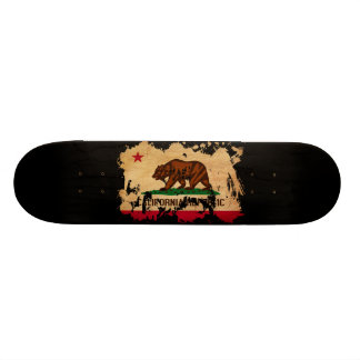 California Flag 21.6 Cm Old School Skateboard Deck