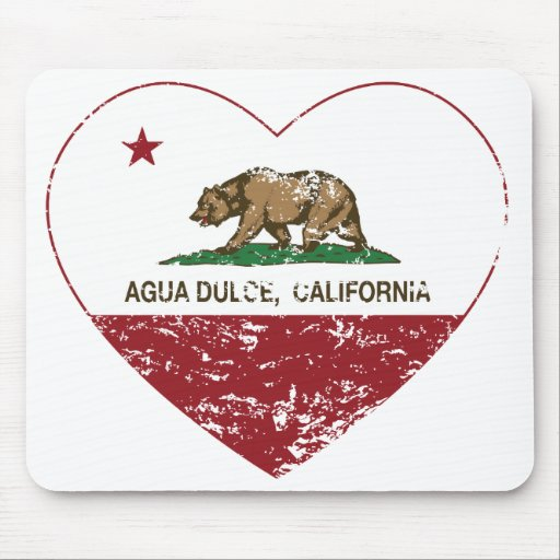 california flag agua dulce heart distressed.png mousepads