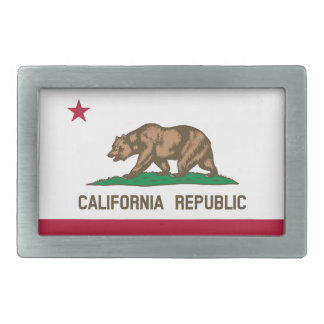 California Flag Belt Buckle