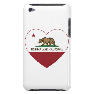 california flag big bear lake heart iPod touch cover